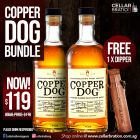 Copper Dog Whisky Bundle + x1 FREE Dipper