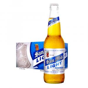San Miguel Light Beer Bottle (24btls X 330ml)